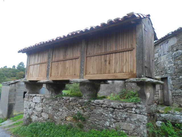 Camino francès - un horreos