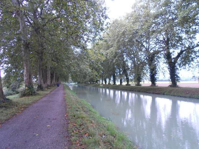 Chemin de Compostelle - Canal à la sortie de Moissac